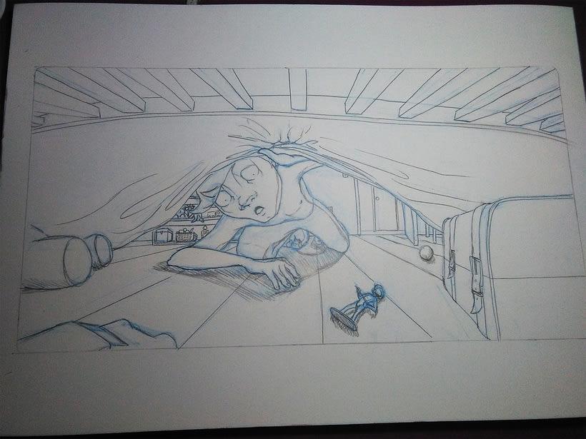 Bajo la cama... 0