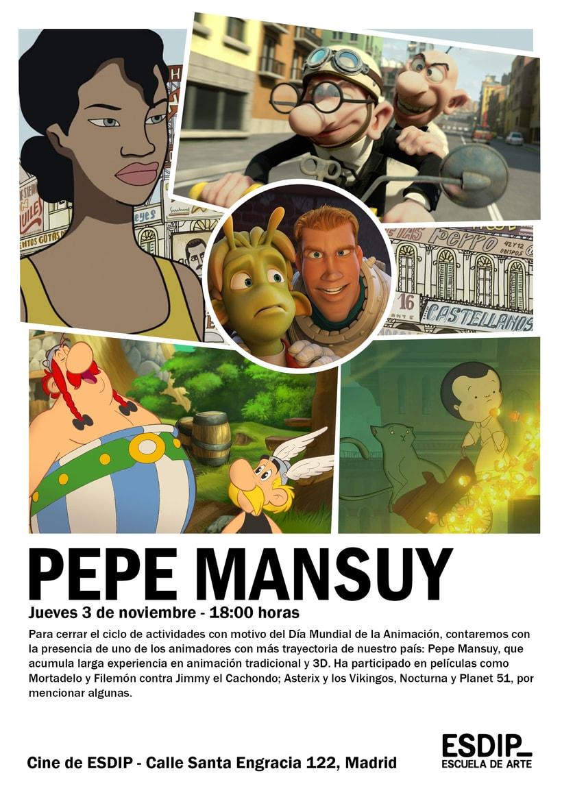 Conferencia con el animador Pepe Mansuy 0