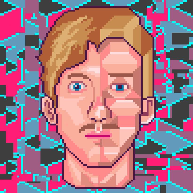 Retratos Pixel Art 4