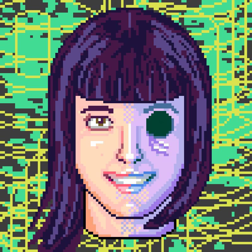 Retratos Pixel Art 5