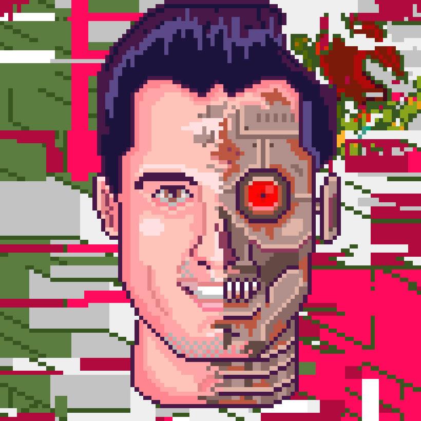 Retratos Pixel Art 7