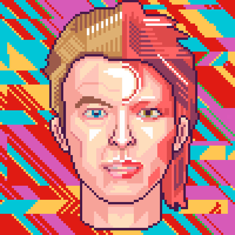 Retratos Pixel Art 0