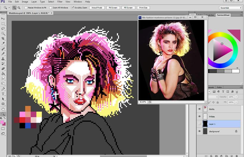 Retratos Pixel Art 8