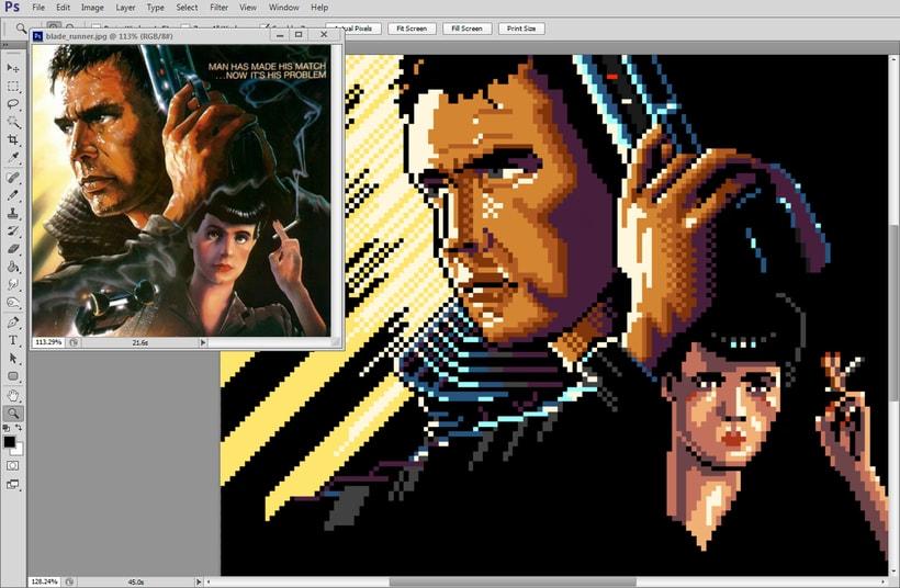 Retratos Pixel Art 10