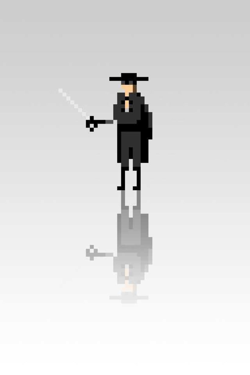 Pixel Movie Characters 0