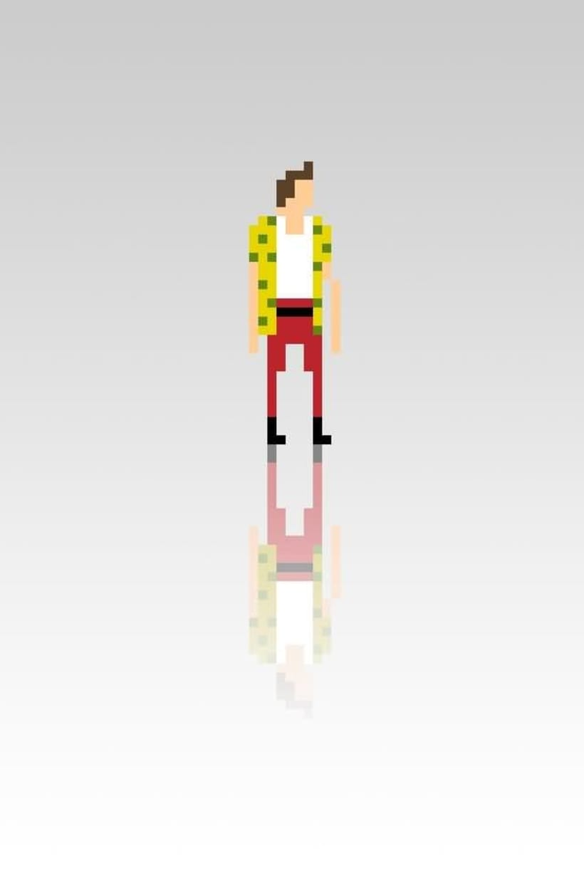 Pixel Movie Characters 1