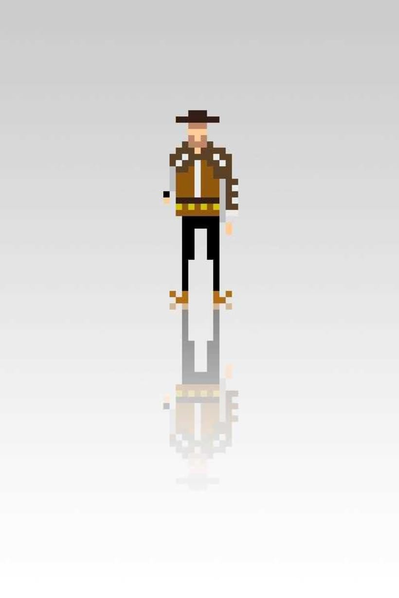 Pixel Movie Characters 4