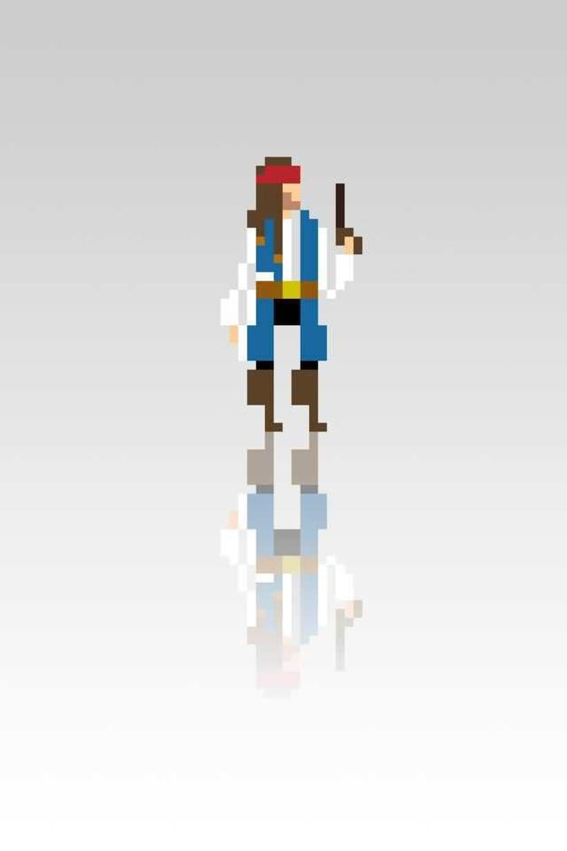 Pixel Movie Characters 5