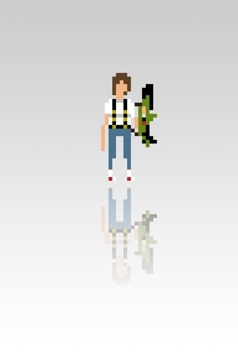 Pixel Movie Characters 8
