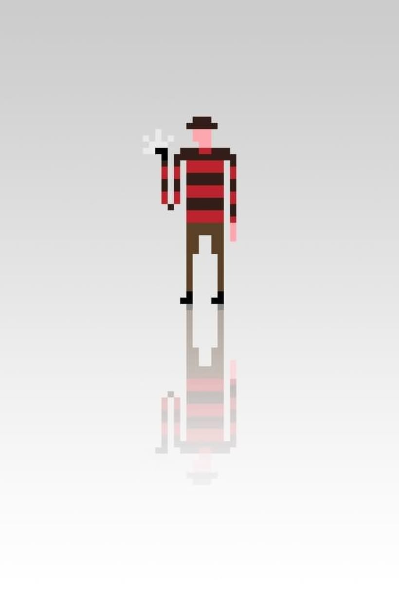Pixel Movie Characters 9