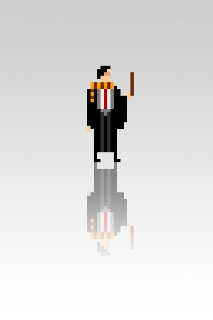 Pixel Movie Characters 11