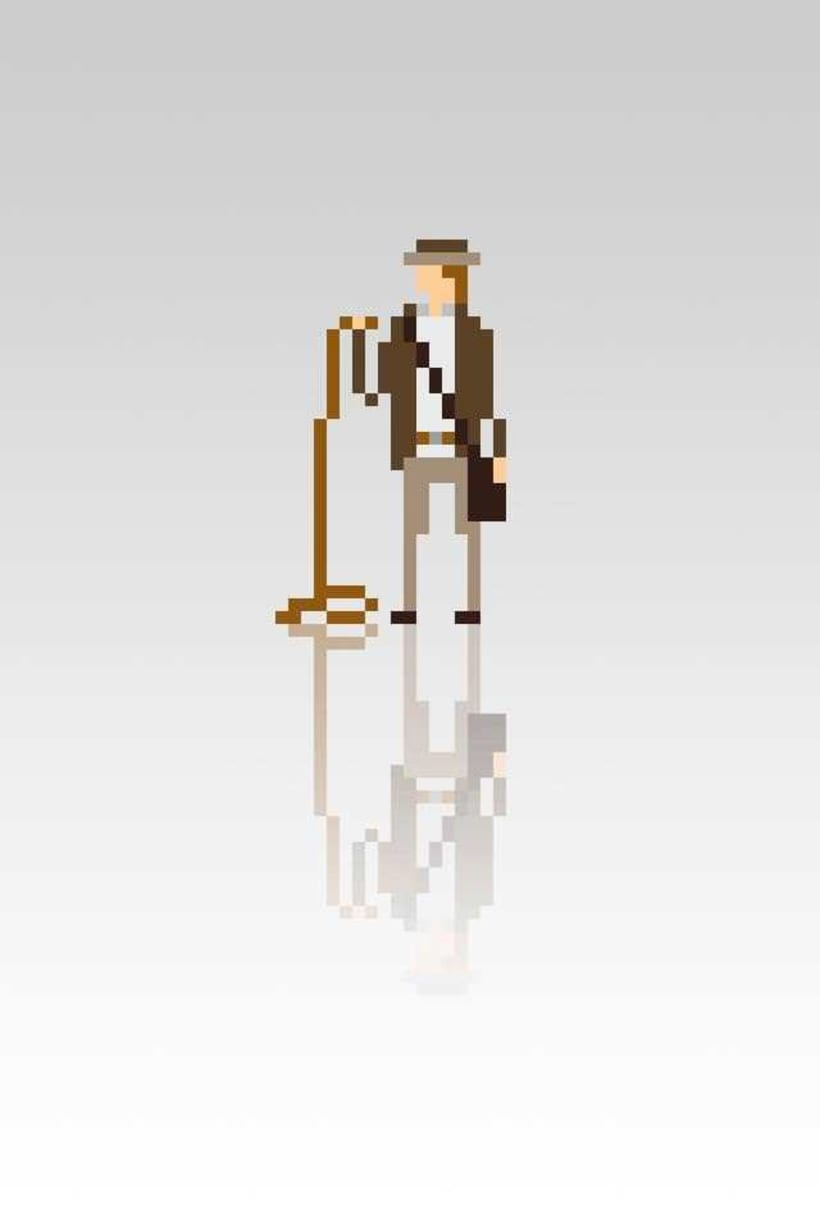 Pixel Movie Characters 12