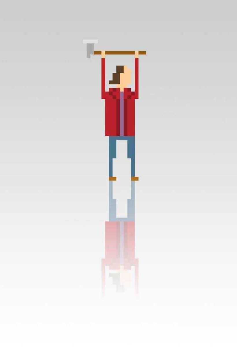 Pixel Movie Characters 13