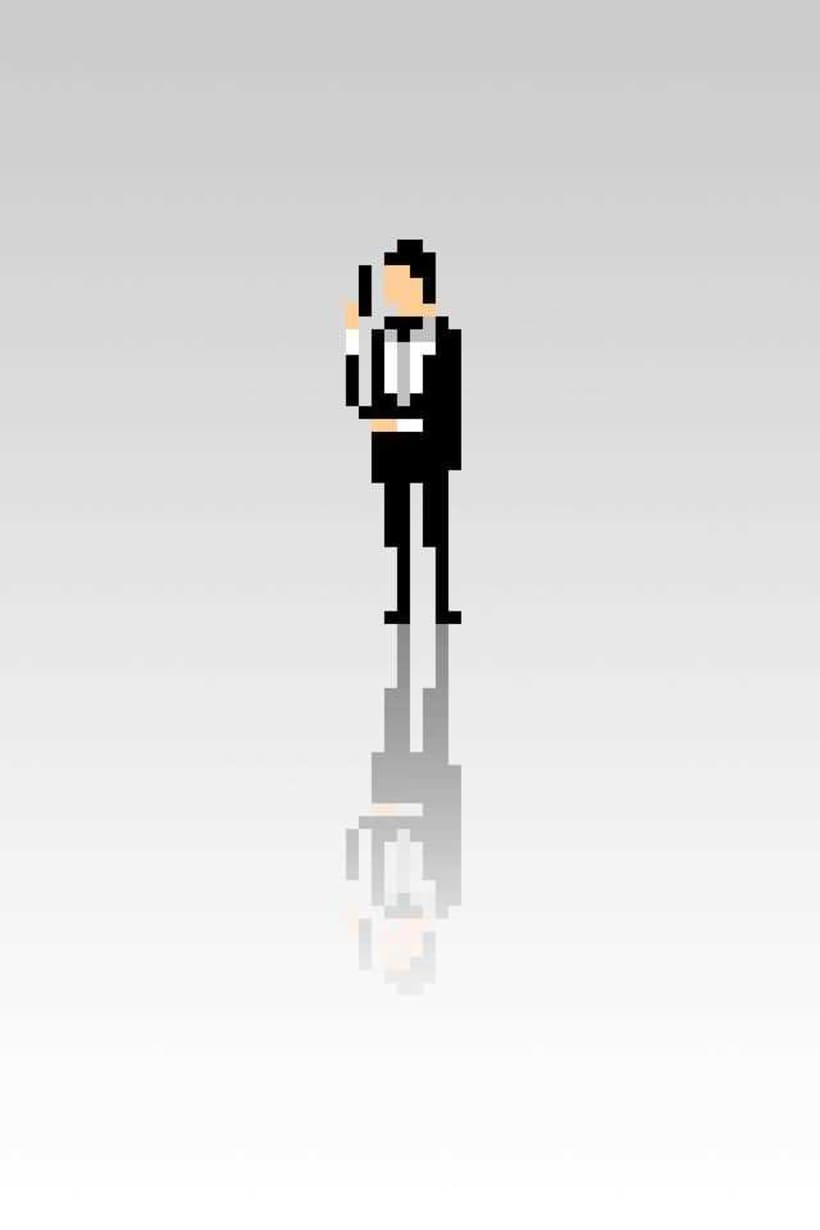 Pixel Movie Characters 14
