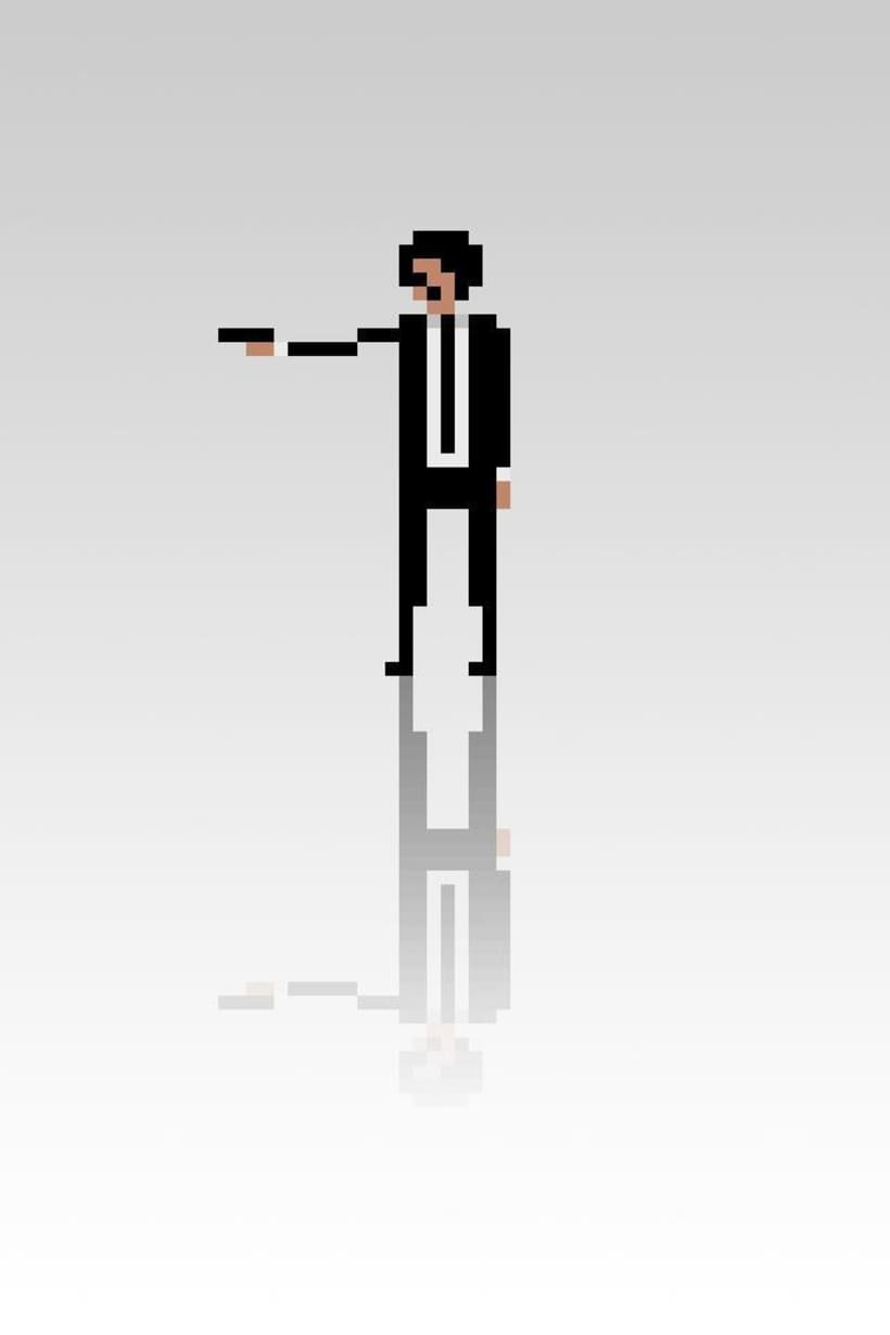 Pixel Movie Characters 15