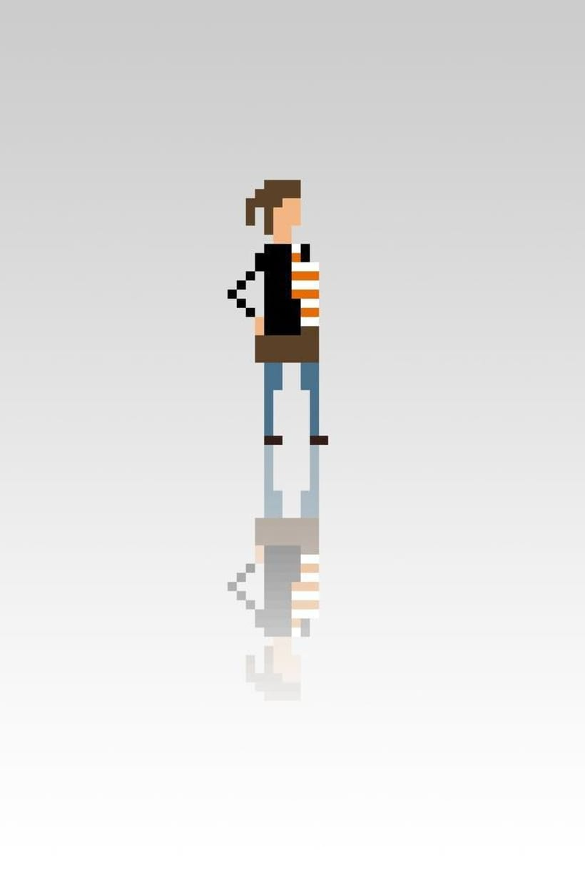 Pixel Movie Characters 16