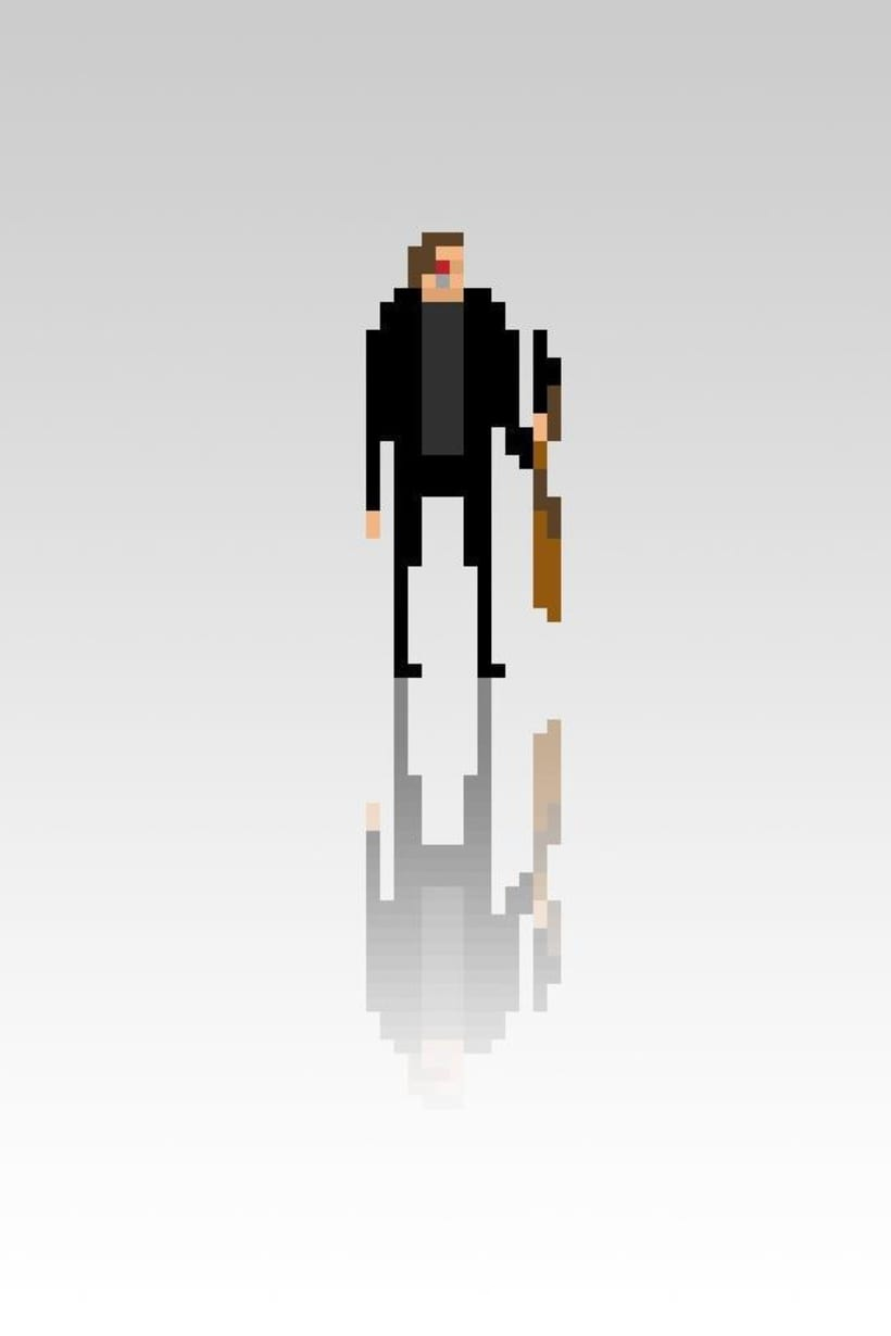 Pixel Movie Characters 21