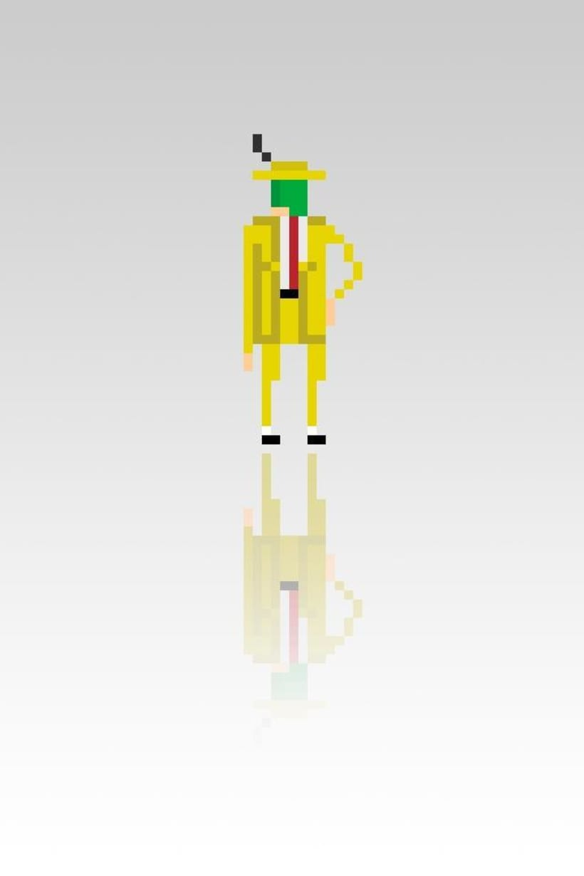 Pixel Movie Characters 23