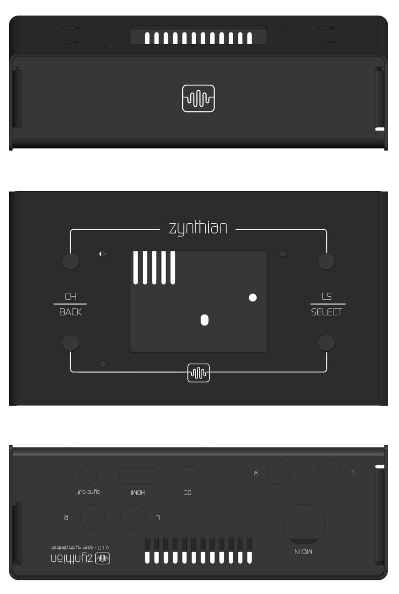 ZYNTHIAN - Interfaz física 2
