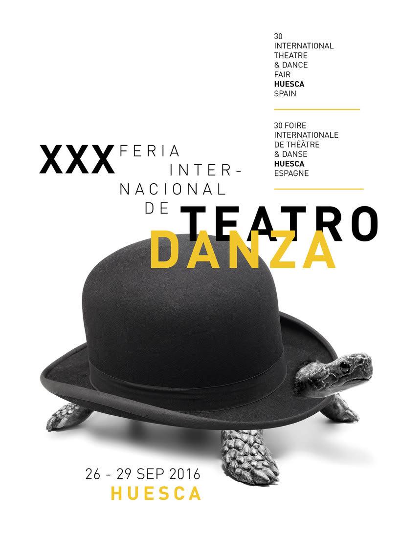 Branding para la Feria internacional de teatro y danza de Huesca 2