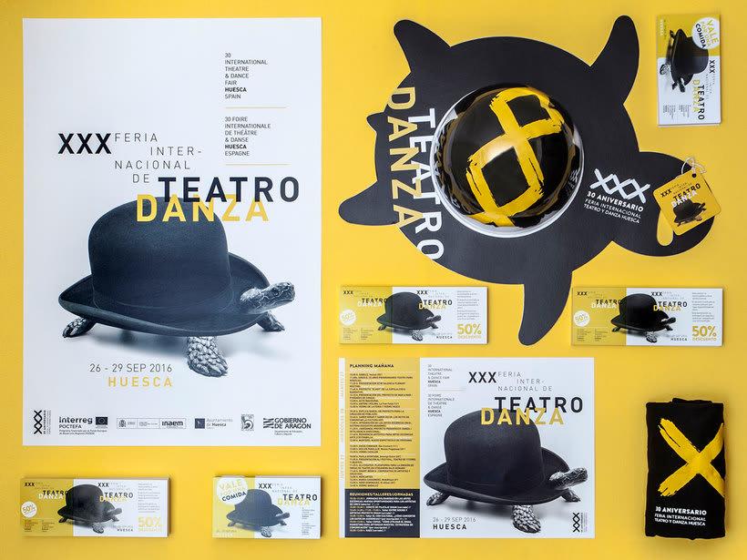 Branding para la Feria internacional de teatro y danza de Huesca 4