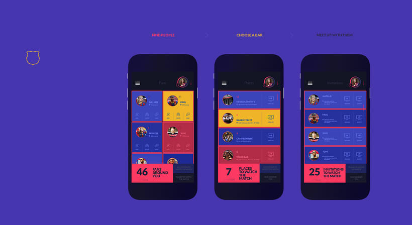 Fanapptic. The new app for fans of FC Barcelona.Nuevo proyecto 5