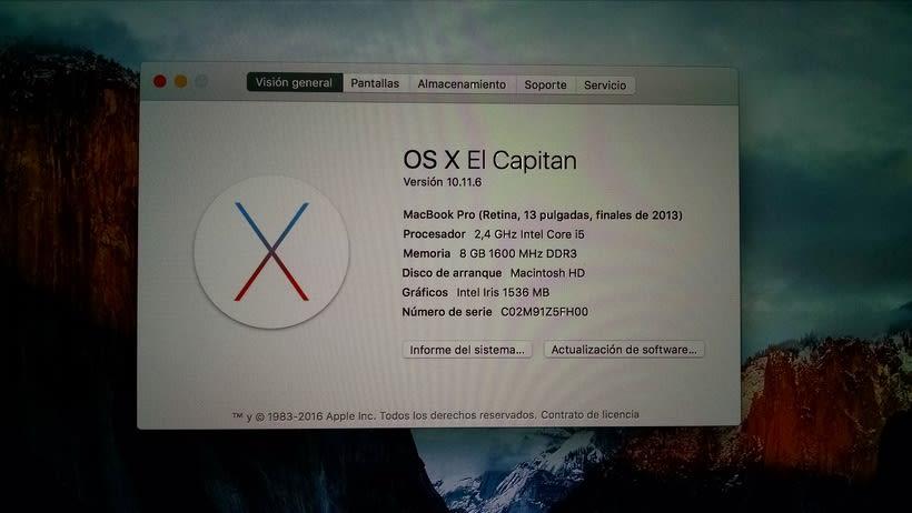 Vendo Macbook Pro Retina 13 casi nuevo (vendido) 8