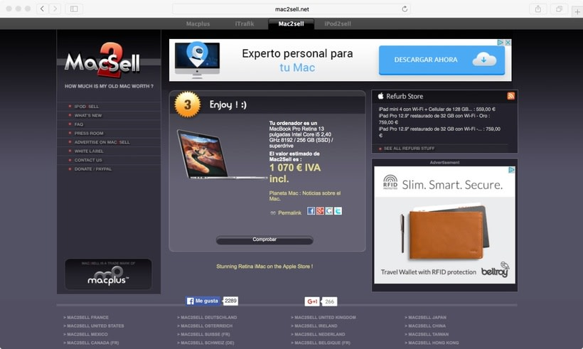 Vendo Macbook Pro Retina 13 casi nuevo (vendido) 10