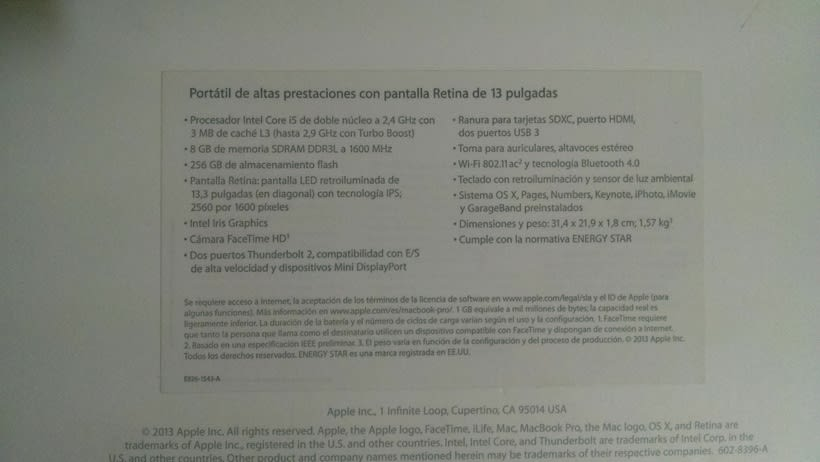 Vendo Macbook Pro Retina 13 casi nuevo (vendido) 9
