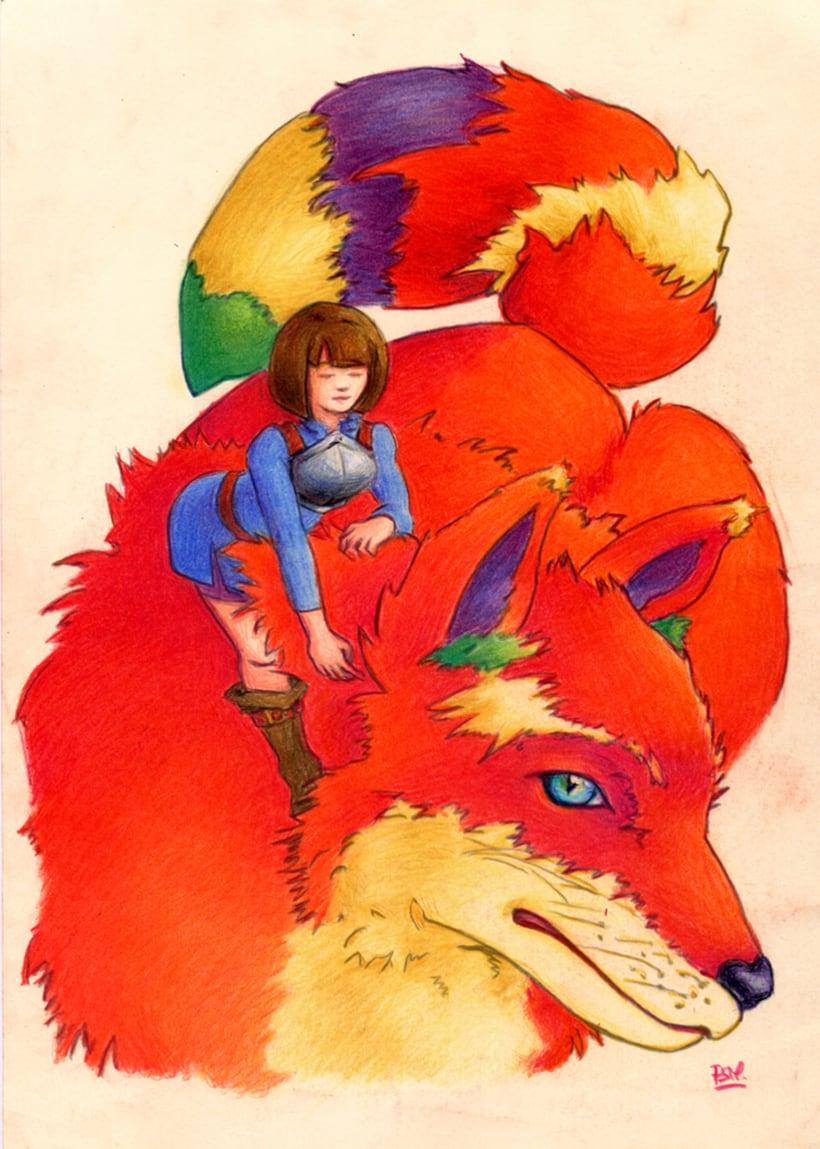 Nora y el zorro de cenizas 0