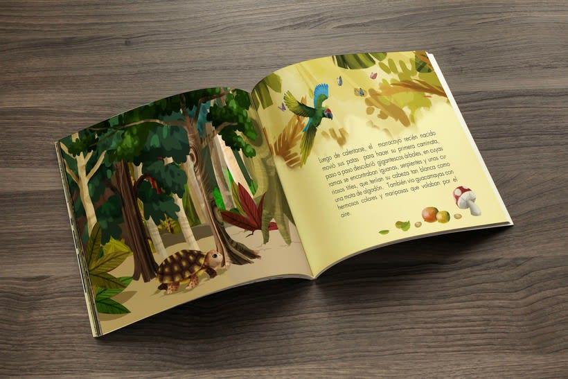 Cuento ilustrado, Zoológico de Barranquilla -1