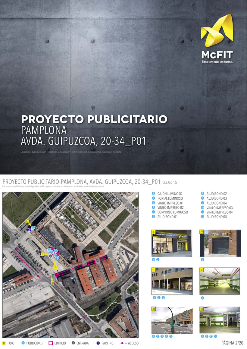 Proyecto implantación Pamplona 2015 0