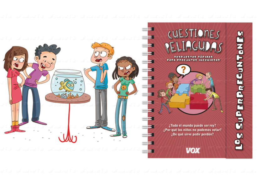Cuestiones Peliagudas. Ed.: Vox (Larousse) Los Superpreguntones 1