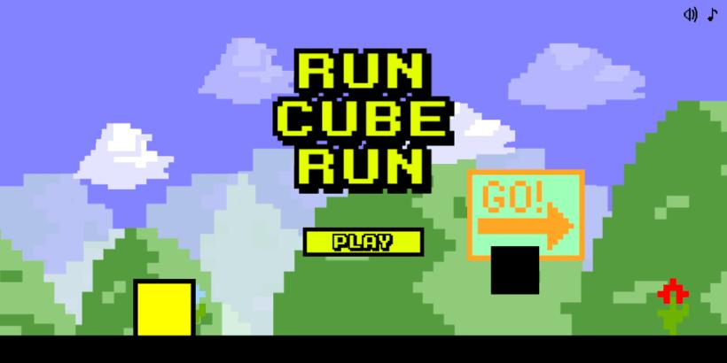 Videojuego Run Cube Run -1