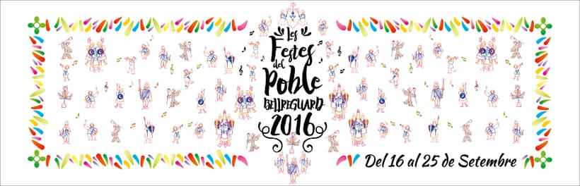Cartell de Festes de Bellreguard 2016 5