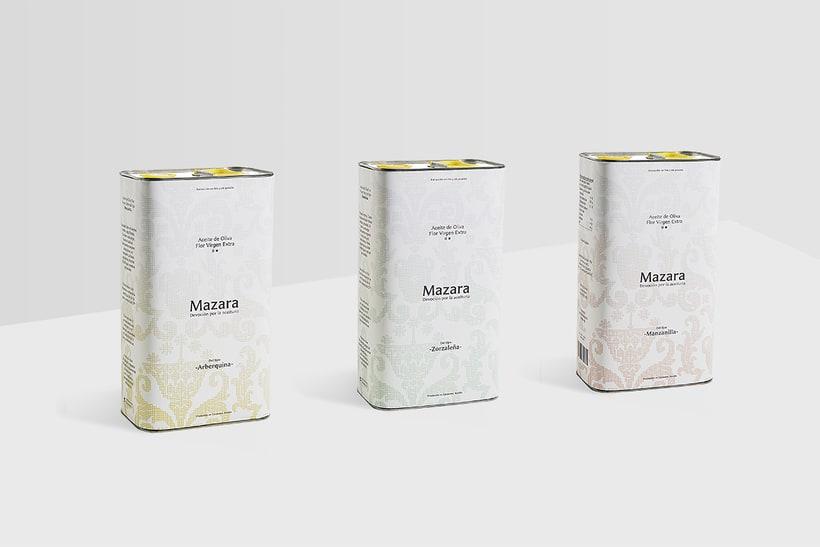 Aceite de Oliva Mazara 3