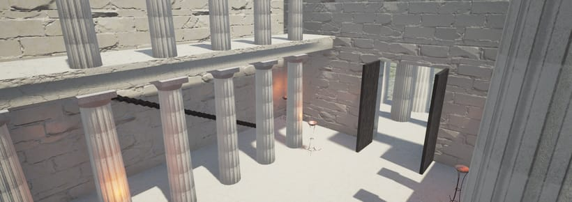 Entorno interactivo 3D con Unreal Engine: Templo 0