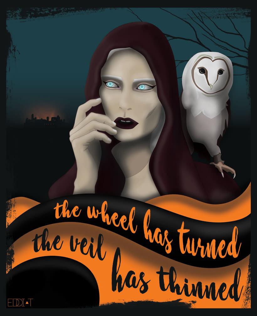 Ilustración Halloween '16 -1