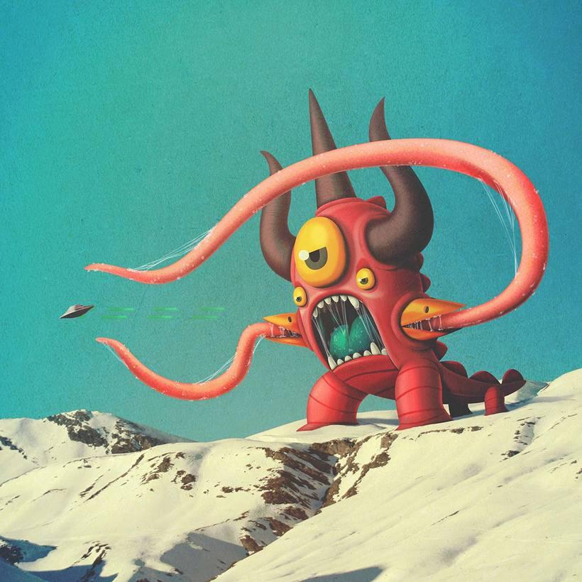 Bakea crea monstruos terroríficamente adorables 4