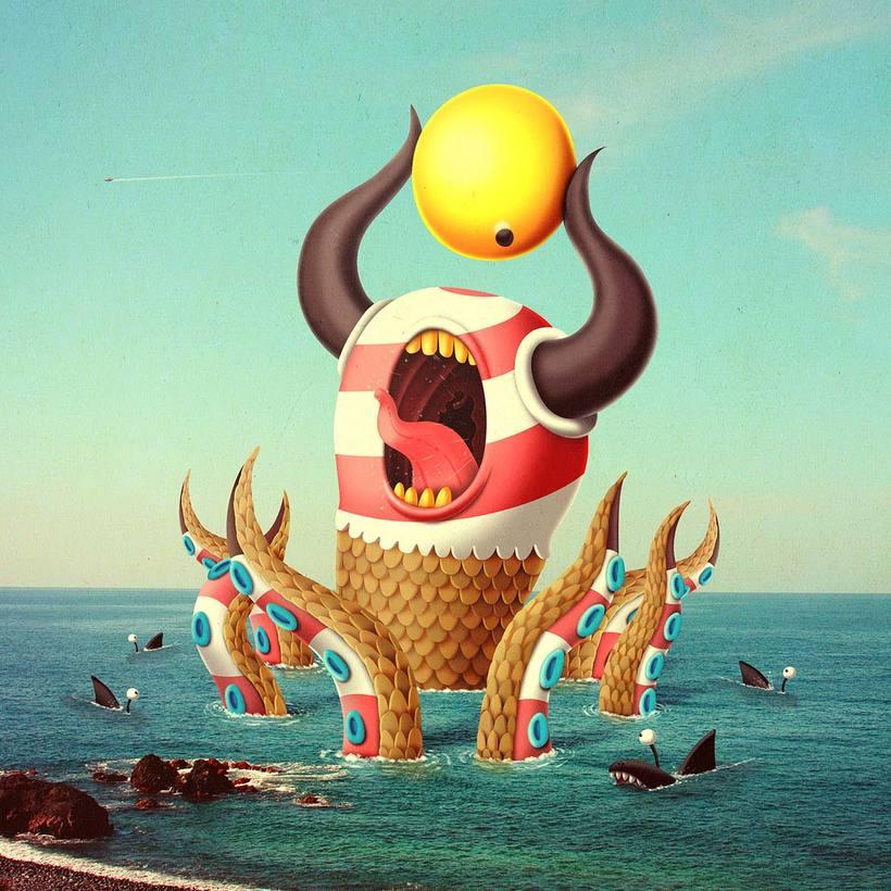 Bakea crea monstruos terroríficamente adorables 17
