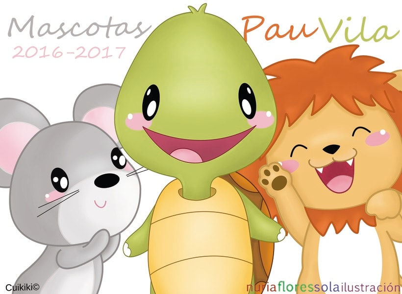 Mascotas para el Colegio Pau Vila 2016-2017 -1