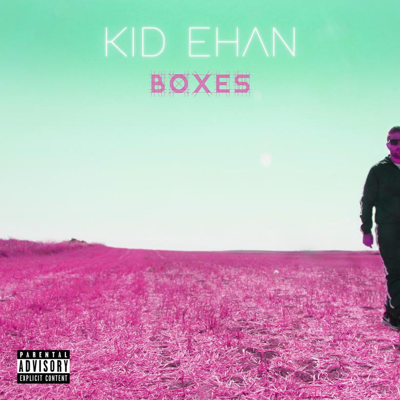 """Portada y contraportada para Kid Ehan en su trabajo """"Boxes"""" -1"""