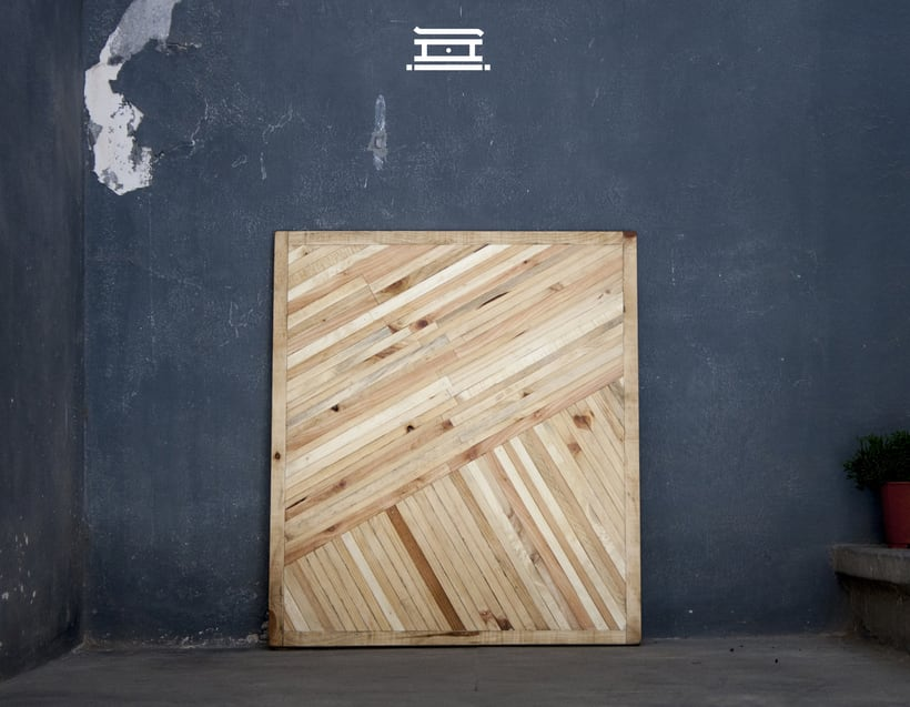 Shi - Recycled wood design 6