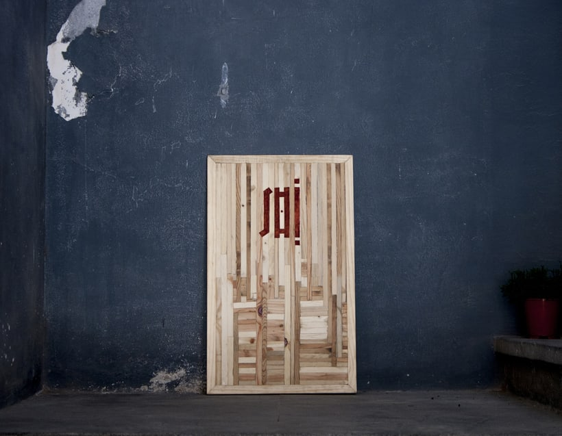 Shi - Recycled wood design 7