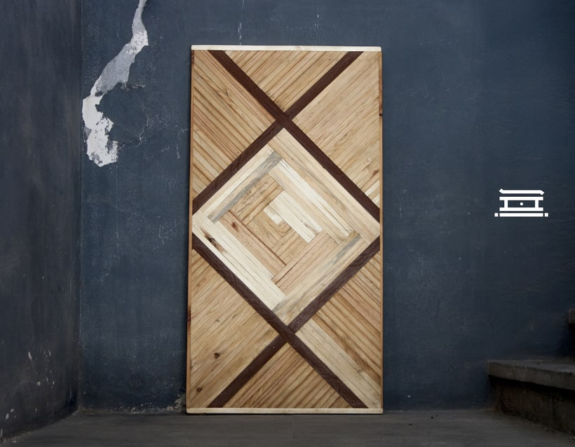 Shi - Recycled wood design 10