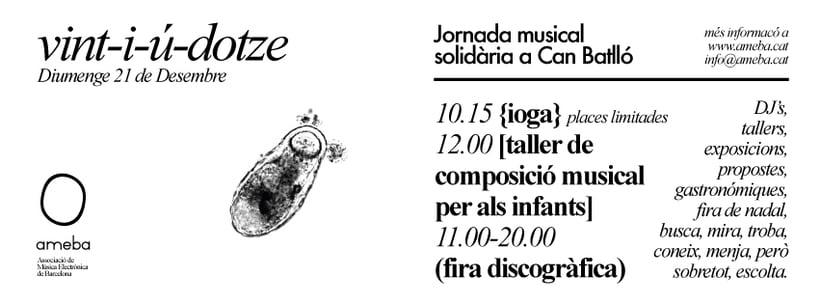 VINT-I-U-DOTZE - Jornada musical solidária 1