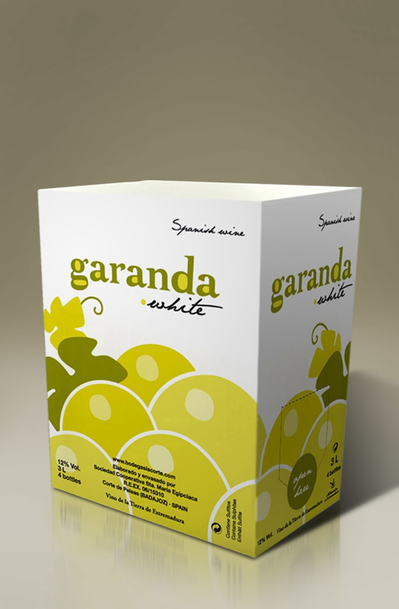 Packaging Bag-in-Box Garanda (Bodegas La Corte) -1