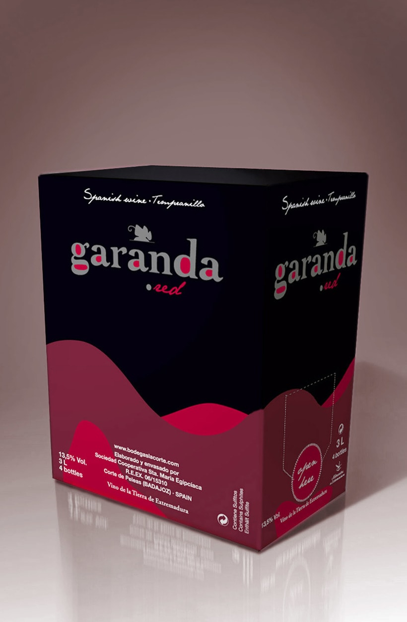 Packaging Bag-in-Box Garanda (Bodegas La Corte) 0