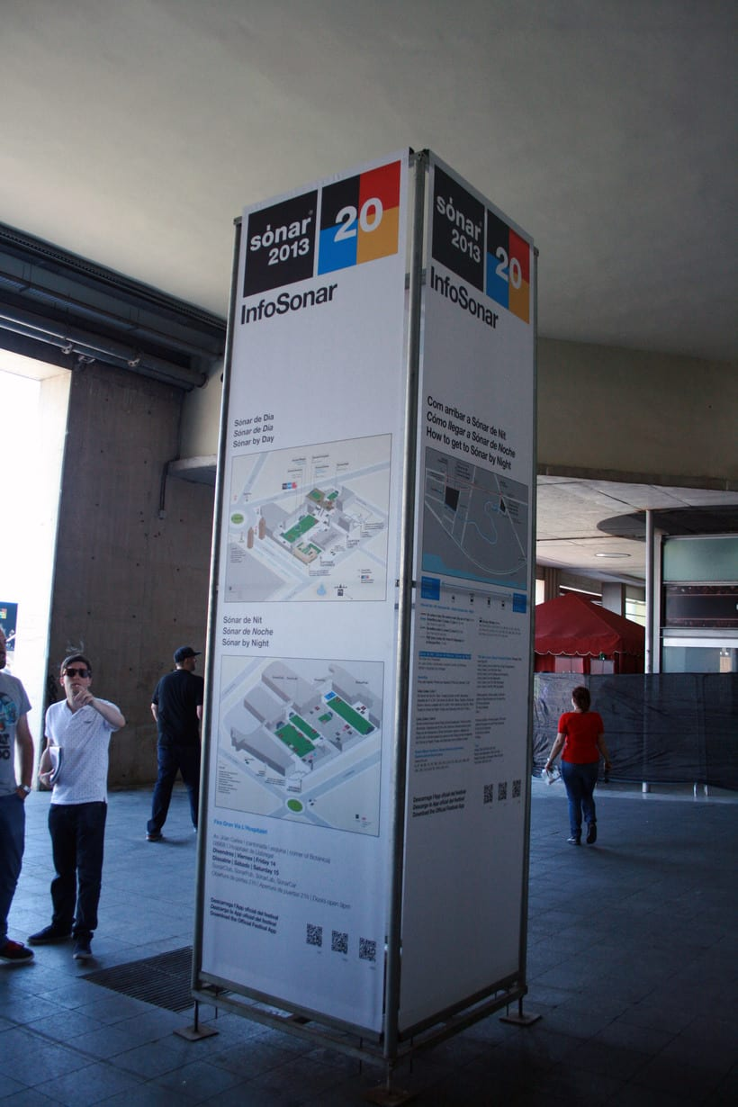 SONAR 2013 - Maps for stages & signage 10