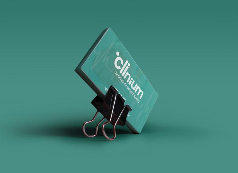 Identidad corporativa. Clinium Salud 4